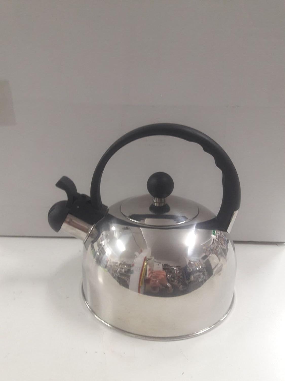 Cafetera Pava Silbante 2L. Acero Inox. Ref. 6951 Pottery Vitrocer ...