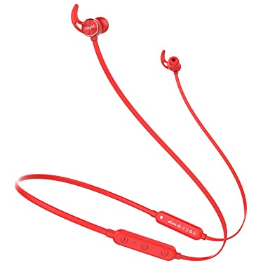 Wireless in-Ear Headphones, Bluetooth Headphones, Neckband Sports Bluetooth Headsets Lightweight Magnetic Earbuds for Running Workout Gym Bluetooth 4.1, 10 Hour Battery, Noise Cancelling,Sweatproof
