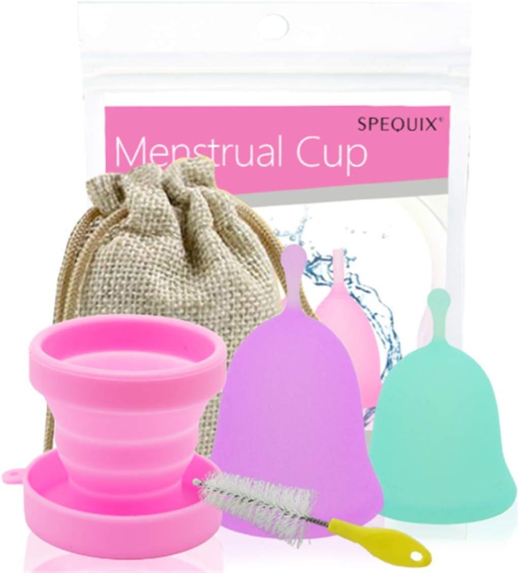 Médico Copa Menstrual reutilizable Menstrual Cup suave de la ...