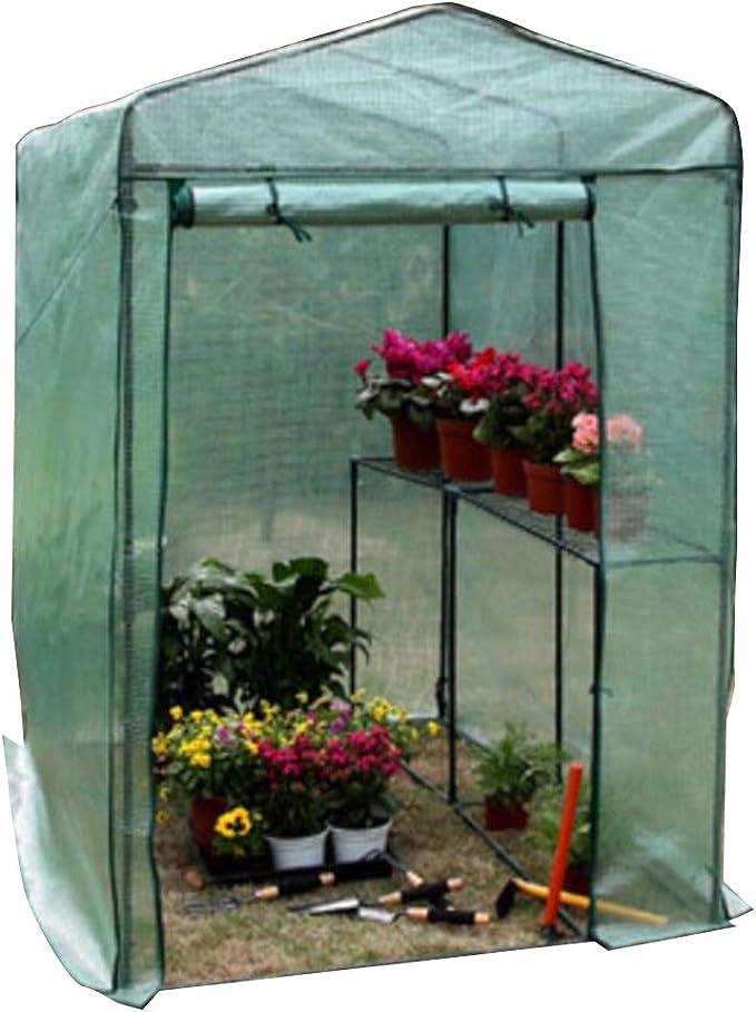 LIANGLIANG Cubierta De Invernadero para Plantas Jardinería Casa De ...