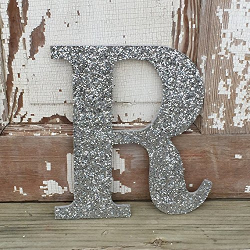 Amazon Com Decorative Silver Glitter Wall Letters Wedding