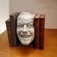 """2021 Nieuwe Boek Plank Sculptuur, Sculptuur Van De Shining-bookend-bibliotheek-""""Hier is Johnny""""Beeldhouwkunst, Creatieve…"""