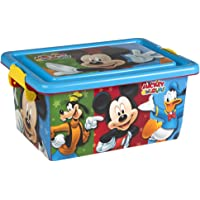 ColorBaby - Caja ordenación 7 litros, diseño Mickey