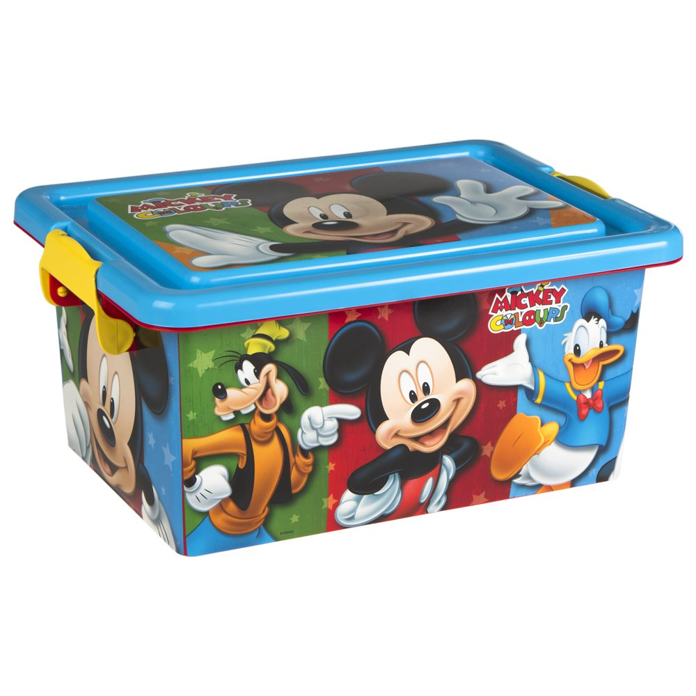 Unbekannt Colorbaby–Box Ordnung, Design Mickey Mouse 32 x 23 x 15 cm 76601
