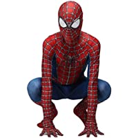 ZUOZHE Niño Adulto Spiderman Homecoming Disfraz Halloween Carnaval Cosplay Suit Spandex/Lycra 3D Print Spider-Man…
