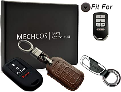 For Honda Civic Accord CR-V Pilot HR-V 2018 Silicone Key Case Remote Fob Cover