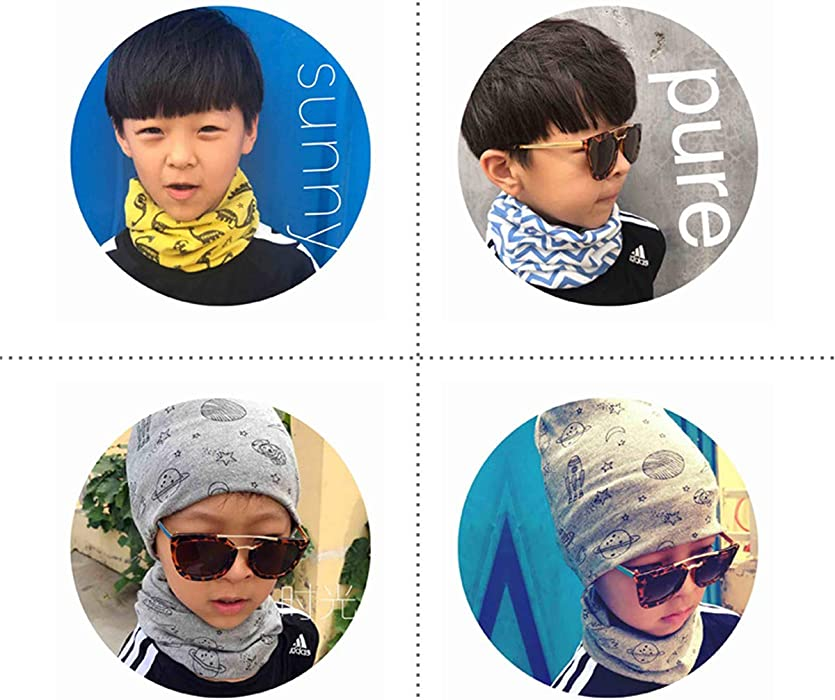 dea0f530d Clothing, Shoes & Jewelry Cute Sloth Kids Printed Scarf Comfortable Winter Infinity  Scarf Warmer Travel Scarf ...