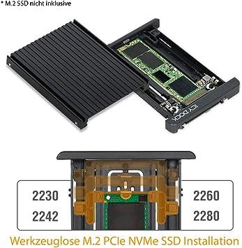 Icy Dock EZConvert MB705M2P-B - Adaptador y convertidor para SSD M ...