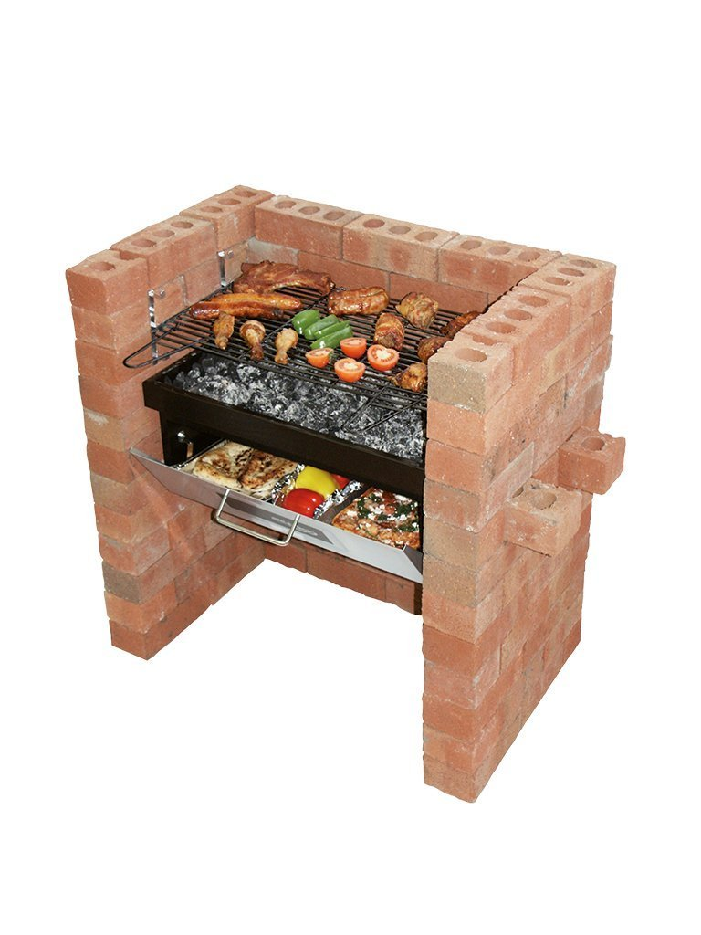 Build in - Barbecue Grill & Bake with Oven & BBQ Grill Rectella