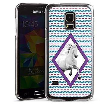 5f07c0fa7fe Carcasa Samsung Galaxy S2 Unicornio Unicornio Unicorn, Hard Case  transparent, Samsung Galaxy S5 Mini: Amazon.es: Electrónica