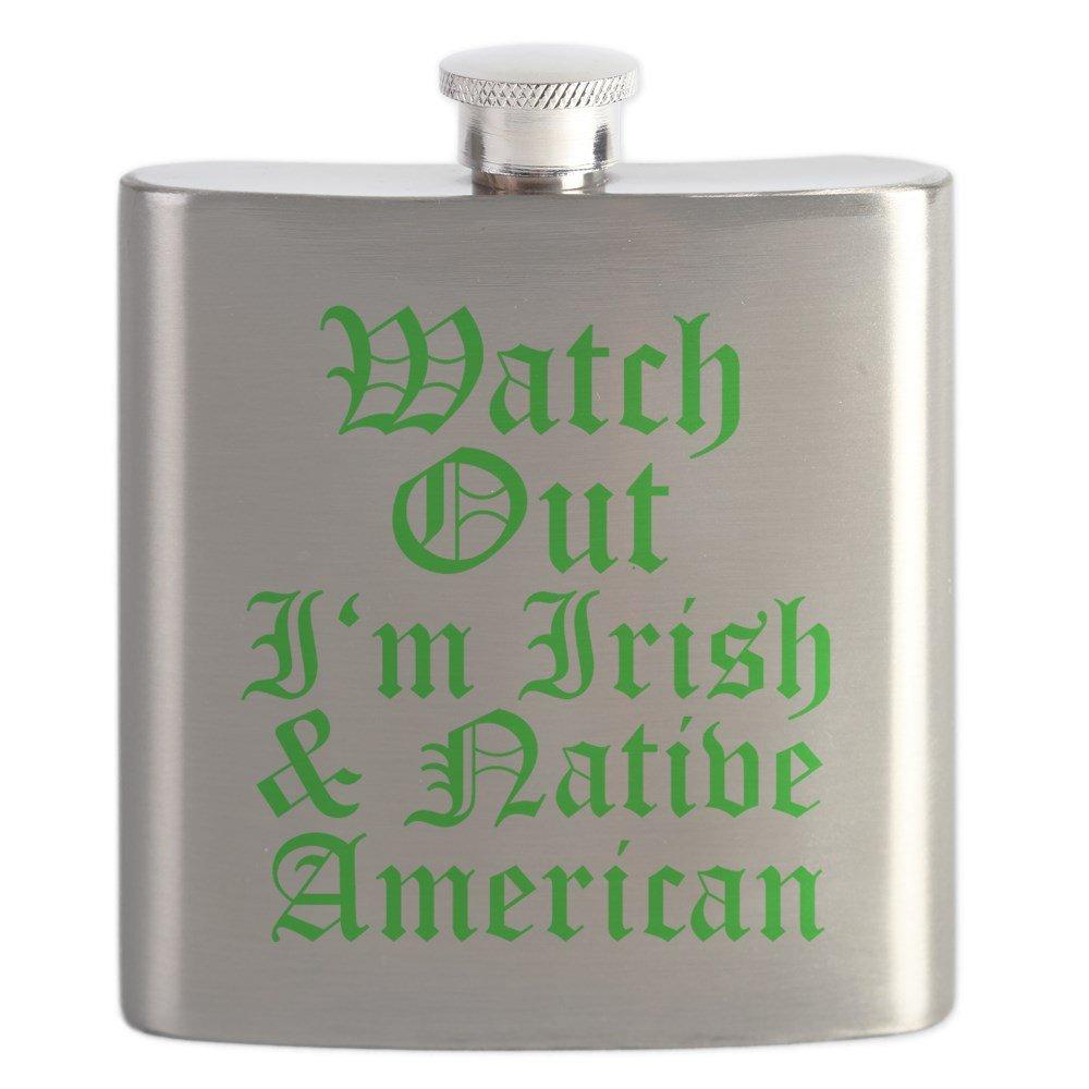 2019公式店舗 CafePress – Watch Out Im – Irish native American。PSD B071X9FQVB native – ステンレススチールフラスコ、6オンスDrinkingフラスコ B071X9FQVB, リョウナンチョウ:fa1b6093 --- a0267596.xsph.ru