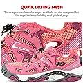 Clorts Women's Water Shoe Athletic Lightweight Kayaking Hiking Walking Sneaker 3H027