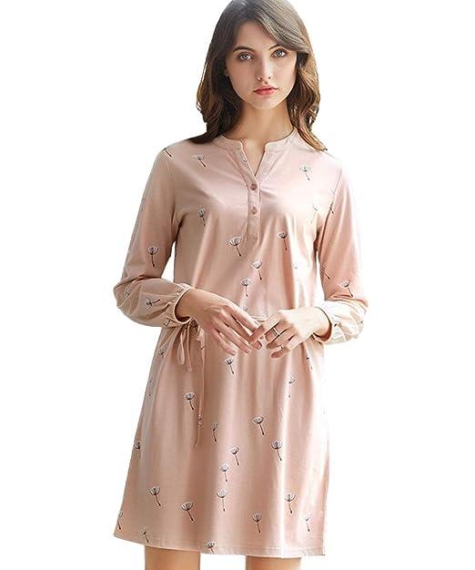 AIKOSHA - Pijama - para Mujer Rosa Dress-Pink M