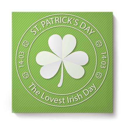 Amazon.com: Fandim Fly Happy St. Patrick's Day Shamrocks ...