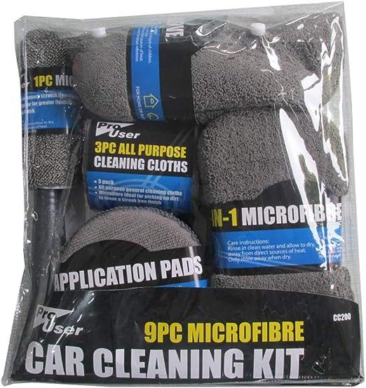 Microfiber Wash Mitt For gentle wash Meguiar/'s Cars surfaces Care /& Detailing