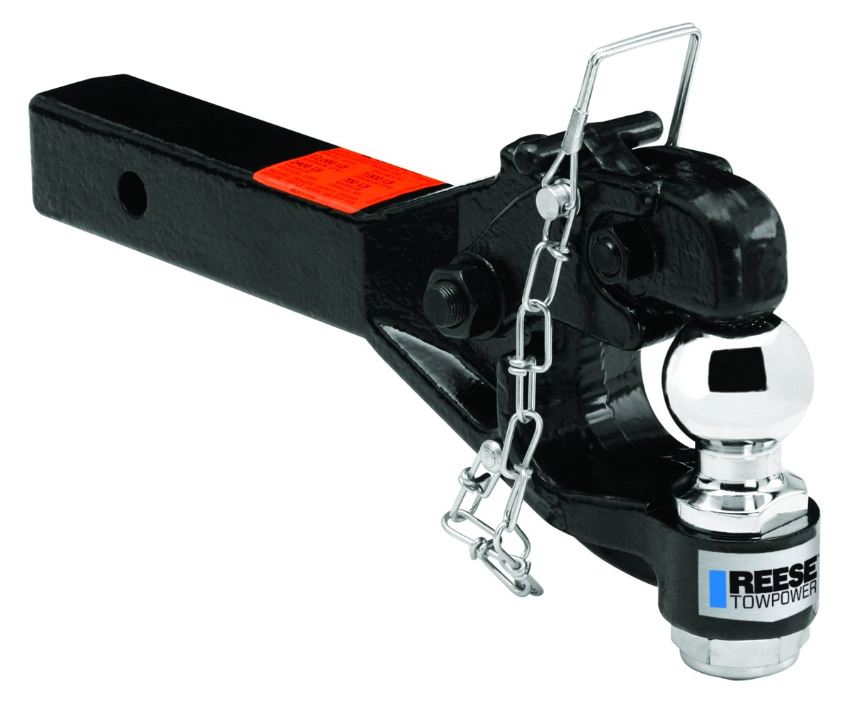 Reese Towpower 7024200 2' Receiver Mount with 2-5/16' Ball and Pintle Combo