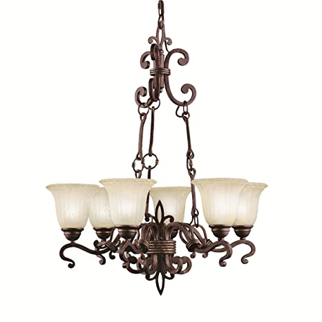 Amazon.com: 2089 CZ 6lt lámpara de araña, de Wilton Carre ...