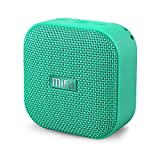 Bluetooth Speaker, MIFA A1 Fabric Mini Portable Wireless Speaker with HD Sound & Bold Bass, IP56 Dustproof & Waterproof, 12-Hour Playtime, Support TWS, Micro SD Card Slot, Built-in Mic, Mint Greenv