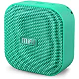 Bluetooth Speakers, MIFA A1 Portable Wireless Soundbox Supports Pairing 2, Loud HD Sound, Solid Bass, IP56 Dustproof Waterproof, 12-Hour Playtime, Micro SD Card Slot, Built-in Mic, Mint Green Fabric