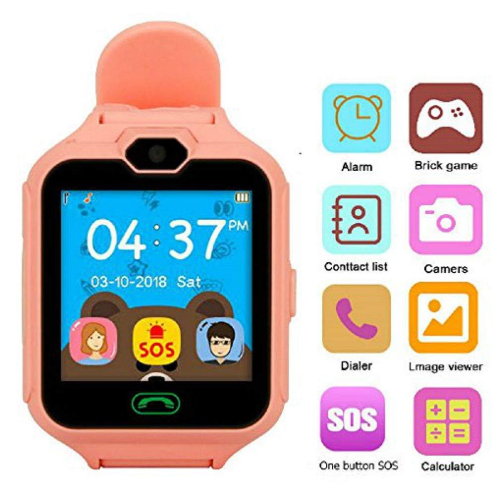 Hangang Teléfono Inteligente Niña Smartwatch Cámara Juegos Pantalla Táctil Cool Juguetes Relojes para Niños, Regalos para Niñas Niños