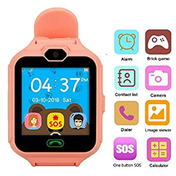 Kids Smart Watch Phone, Phone Smartwatch for Kids, Game Smart Watches for Girls with 1.5 Sensitive Colorful Touch Screen with 3 Games Dialer SOS ...