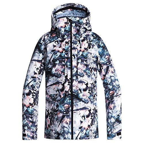 Roxy Snow Junior's Essence 2L Gore-Tex Snow Jacket, Bachelor Button_Water of Love, L (Best Jacket For Snow)