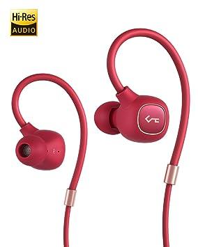 AUKEY Auriculares inalámbricos, Auriculares Bluetooth 5 de Key Series con Controlador Híbrido, aptX Low Latency, Resistencia al Agua del Nivel IPX6, ...