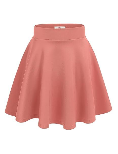 5831c7064b1cbd NYL Womens A-Line Flared Skater Skirt Reg & Plus Size - Made in USA ...