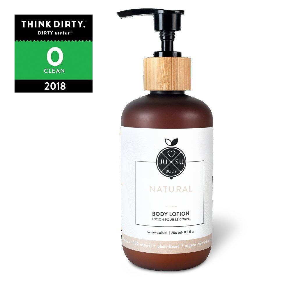 7f68f794344f Amazon.com : JUSU Body Natural Body Lotion - 100% Natural - 8.5 fl oz :  Beauty