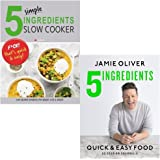 5 simple ingredients slow cooker and 5 ingredients - quick & easy food [hardcover] 2 books collection set