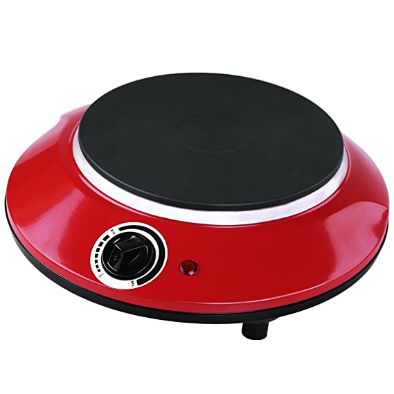 Amazon.com: Techwood es-3113 Single Hierro Fundido Hot Plate ...
