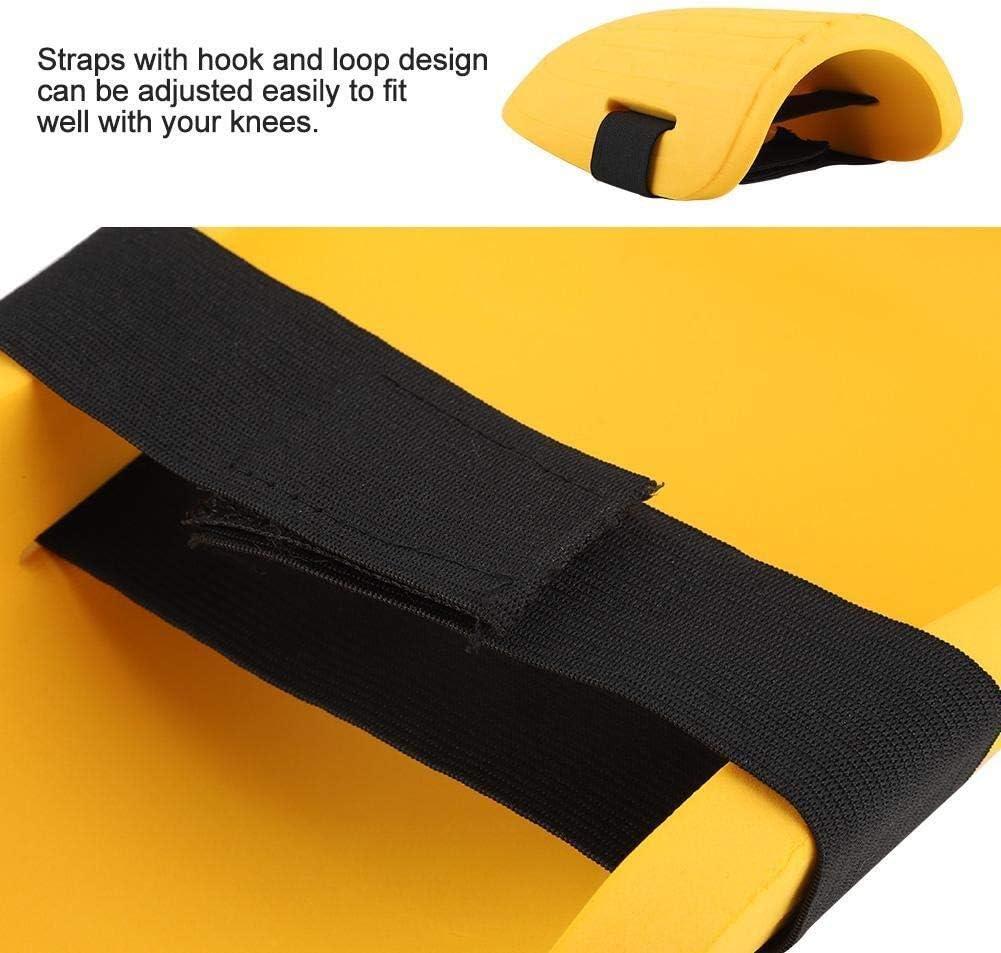 Yellow 1 Pair of Gardening Knee Pad Maxmartt EVA Knee Pads Kneelet Protective Gear for Men Women Construction Flooring