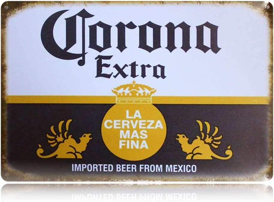 Amazon.com: Letrero retro de PEI, diseño vintage de cerveza ...