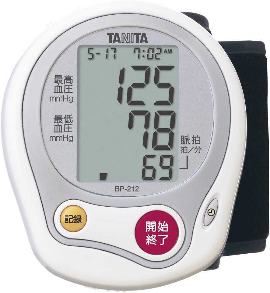 タニタ 手首式血圧計 BP-212-WH