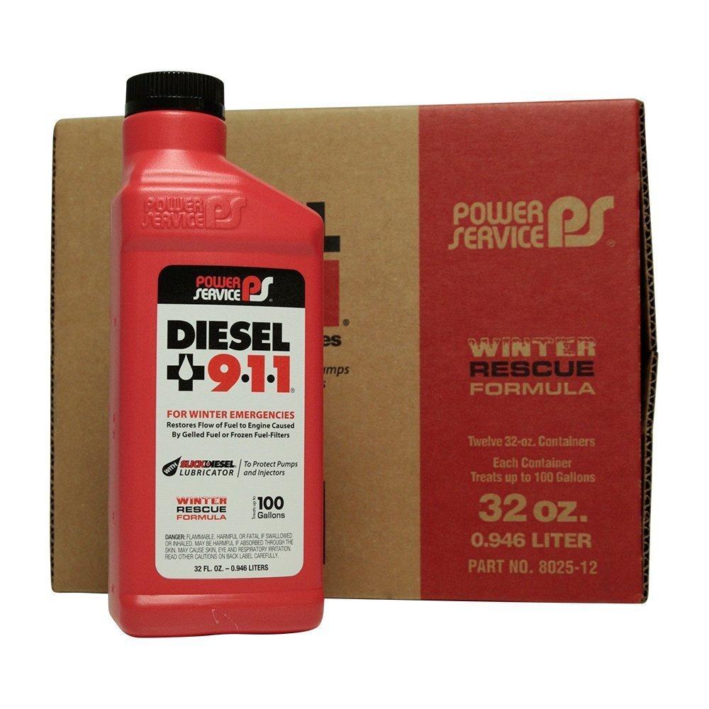 Power Service Diesel 911 - 12/32oz. Bottles