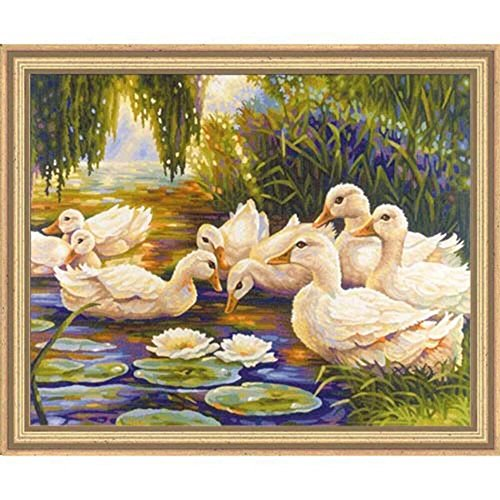 Schipper Duck Pond Paint-by-Number Kit