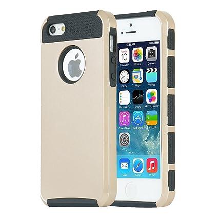 IPhone 5s Case 5 MTRONXtrade Shockproof Hybrid Hard Soft TPU