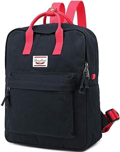Womens Mens Casual Style Lightweight Backpack School Travel Daypack Handbag