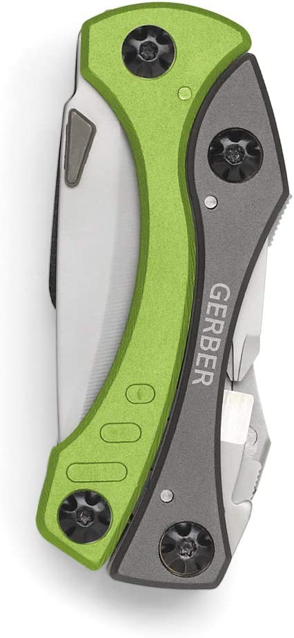 Gerber 1027818 Crucial color verde Herramienta multifunci/ón