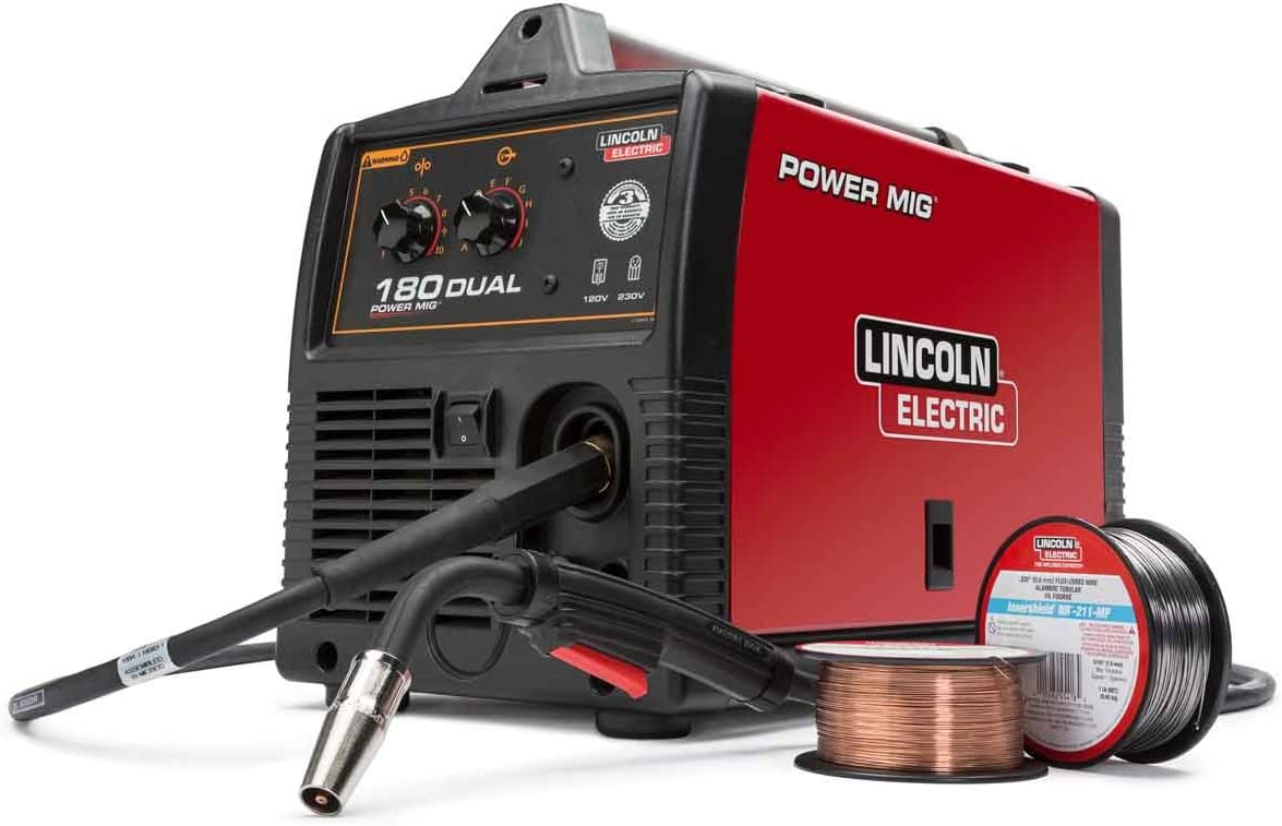 Lincoln Electric Power Mig 180 Dual Mig Welder K3018 2 Tools Products Amazon Com