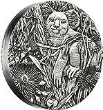 2017 AU Modern Commemorative AUSTRALIAN KOALA 2 Oz Silver Coin 2$ Australia 2017 Dollar Perfect Uncirculated