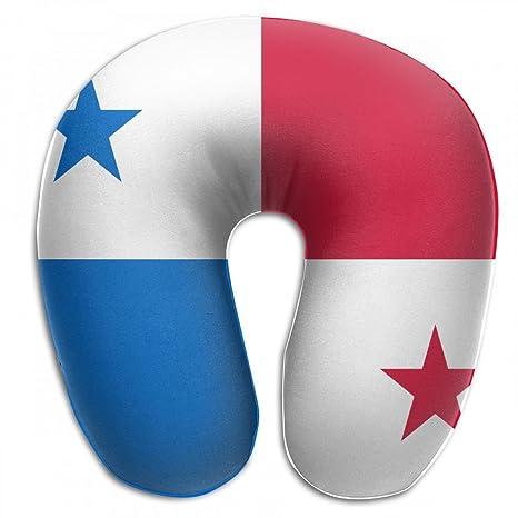 Amazon.com: ChunLei Cojín de viaje cómodo bandera de Panamá ...