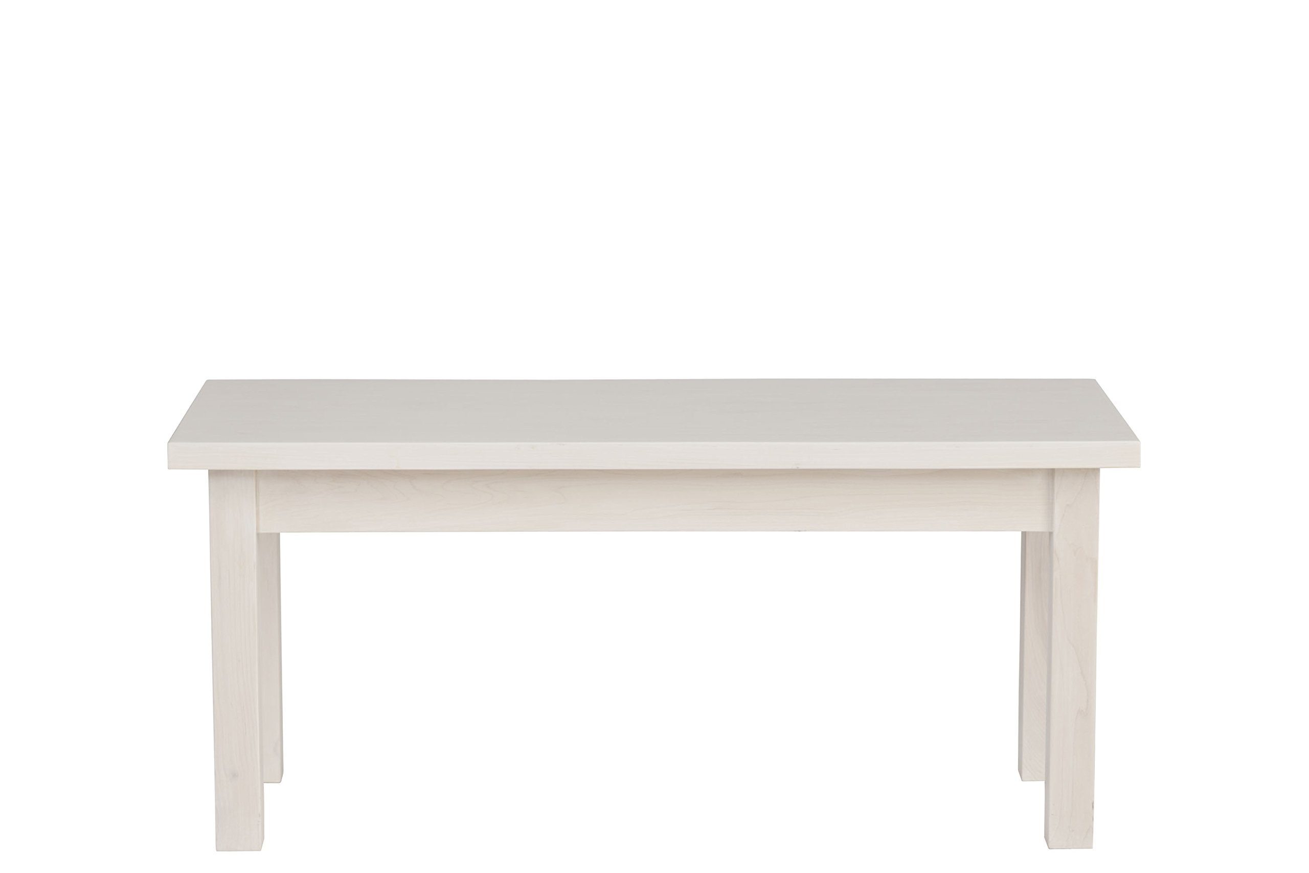Urbangreen HUD21MCle Hudson Bench in Maple, Small, Clear