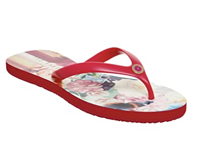 8cbbe4b86 Ted Baker Ryasa Flip Flops Floral Swirl - 6 UK  Amazon.co.uk  Shoes ...