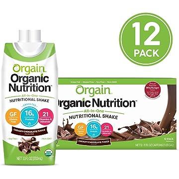 mini Orgain Organic Nutritional Shake