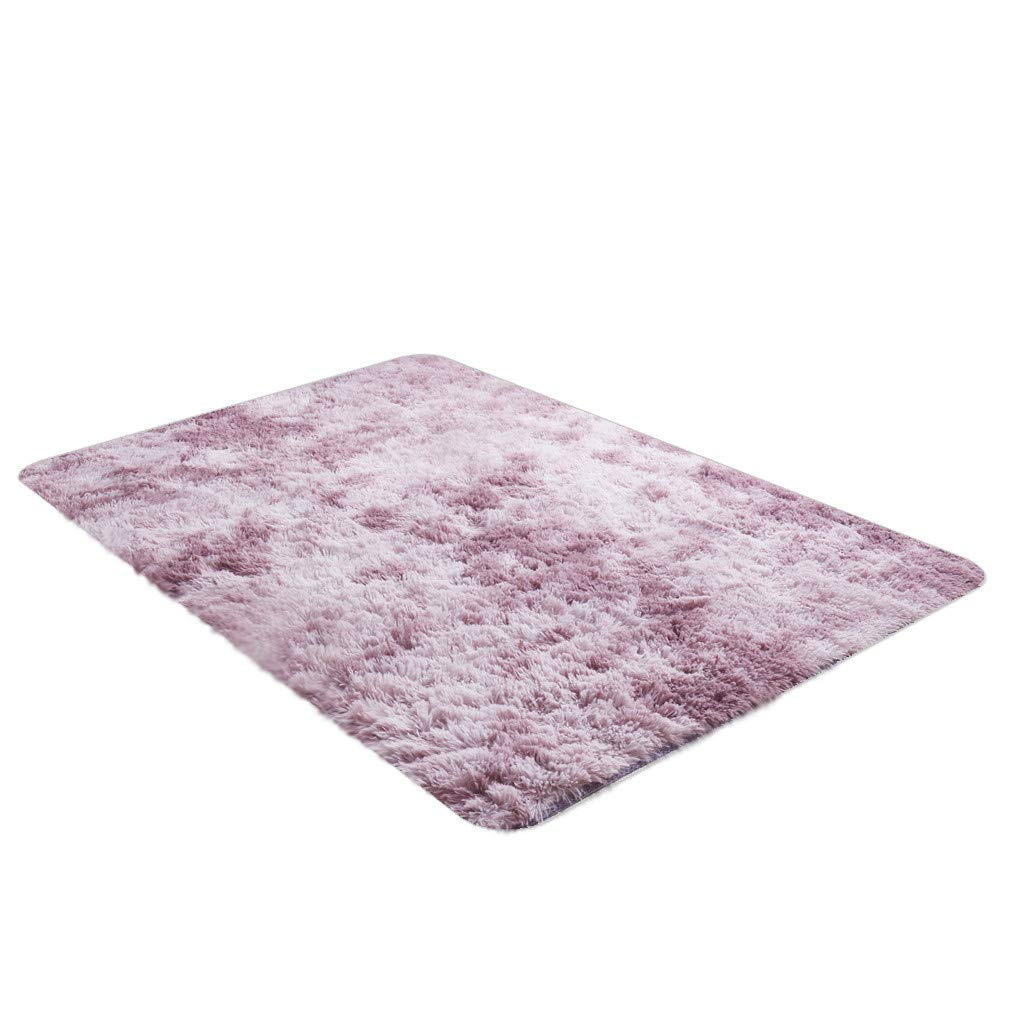 XIANAER Home Decoration Area Carpet Shaggy Ultra Soft Comfortable Cotton Plush Floor Mat Bedroom Living Room Rugs 120X66cm by XIANAER