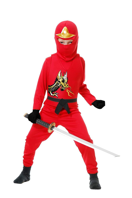 Charades Promo CH84399VR-L Muchachos Red Ninja Series ...