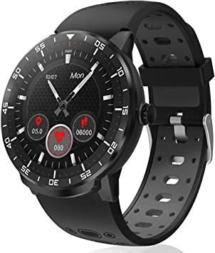 Smartwatch Reloj Inteligente, HopoFit HF06 Pantalla Táctil ...