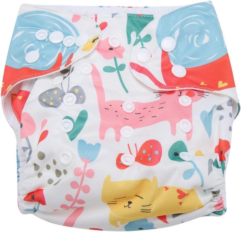 Swim Diaper Baby Infant Snap Absorbente Lavable Swimsuit Pa/ñal Reutilizable Swim Pa/ñal Para Ni/ñas Ni/ños Clases De Nataci/ón Talla /Única Todos #2