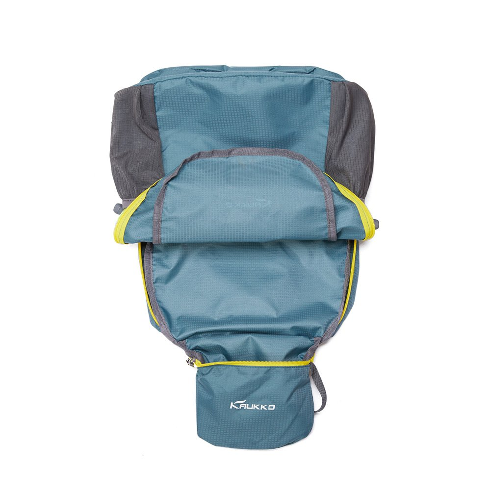 KAUKKO Laptop Outdoor Backpack, Travel Hiking& Camping Rucksack Pack, Casual Large College School Daypack, Shoulder Book Bags Back Fits 15'' Laptop & Tablets (01GREEN) by KAUKKO (Image #5)
